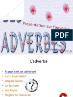 Presentation Sur l'Adverbe