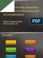 Glaucoma Rehan Butt