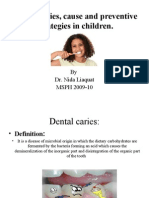 Dental Caries Dr Nida 2