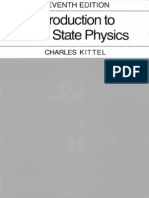 Charles Kittel Intro Solid State Physics