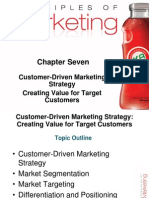 Chapter #7 Principles of Marketing