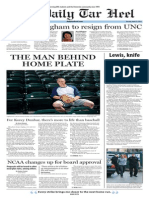 The Daily Tar Heel for April 22, 2014
