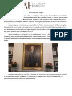 AJ Fletcher Foundation Values