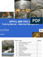 2011-1-Training Manual on Material Management