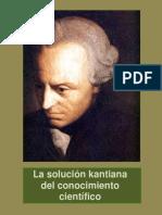 La solución kantiana del conocimiento científico
