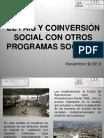 El Fais y Coinversion Social Sedesol