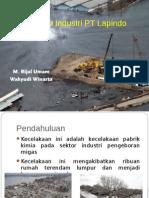 Kecelakaan Industri PT Lapindo Brantas