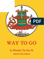 Khenting Tai Situ Pa - Way to Go