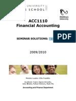 Seminar Solutions - Term 2