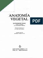 Anatomía Vegetal Esau Ucla