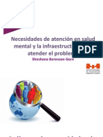 Berenzon - Necesidades de Atencion en Salud Mental Salud Publica 2013-2