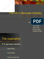 The 5S in Services Industry