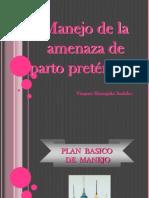 Amenaza de Parto Pretermino Vers. Original