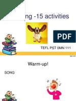 Listening 15 Activities
