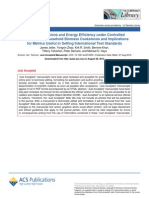 Pollutant Emissions and Energy Efficiency Under Controlled Conditions