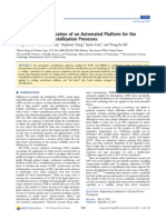 Evolution and Application of an Automated Platform for the Op400187h