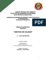 Gestion Calidad-modulo Formativo