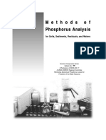 Methods of Phosphorus  Analysis