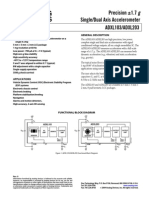 Acelerometro ADXL103-ADXL203