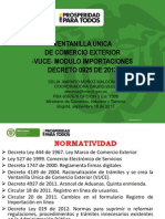 Vuce- Modulo Importaciones 20130918 121212