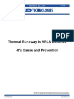 Embalamiento Termico ( Thermal Runaway)