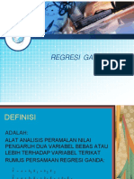 Regresi Ganda
