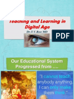 Teaching and Learning Digital Age