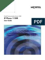 nortel ip phone user manual