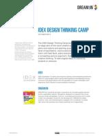 IDEX Design Thinking Camp