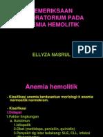 Pemeriksaan Laboratorium Pada Anemia Hemolitik