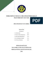 Perbandingan Budaya Organisasi Antara Perusahaan Franchise