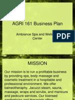 AGRI 161 Business Plan