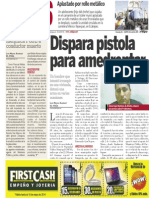 Policiaca 22 de abril 2014