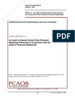 Audit of Internal Control