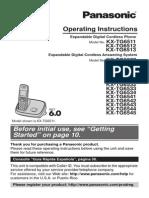 Panasonic Cordless Manual