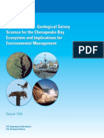 Synthesis of U.S. Geological Survey Science for the Chesapeake Bay Ecosystem and Implications for Environmental Management