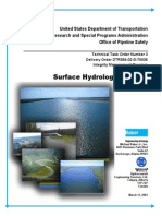 Surface Hydrology Analysis