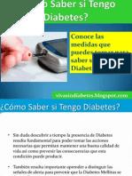 Como Saber Si Tengo Diabetes Mellitus