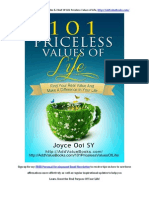 101 Priceless Values of Life