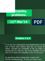 Reliability Related Problems