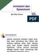 Amniotomi Dan Episiotomi