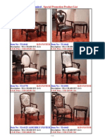 promotion-tea chair set