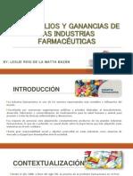 Monopolios y Ganancias de Las Industrias Farmacéuticas