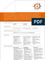 WNS Corporate Fact Sheet