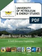 B.tech Aerospace Engineering