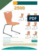 chaises 2500 21-28