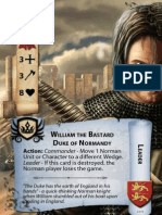 Normans Card Deck for 1066, Tears to Many Mothers