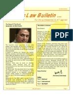 Abhyaas Law Bulletin - April 2014