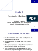 LectureNormalization Database
