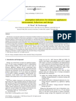 (4)Dynamic Energy-consumption Indicators for Domestic Appliances